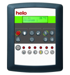 HELO Пульт управления VAPE для парогенератора HLS V , черный, артикул 000034