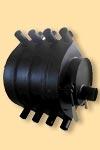 Дровяная отопительная печь НВ-100 длительного горения с высоким КПД!